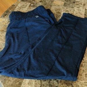 Gapfit navy track pants